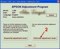 Tutorial Resetter Printer Epson Stylus Photo L100 dan L200