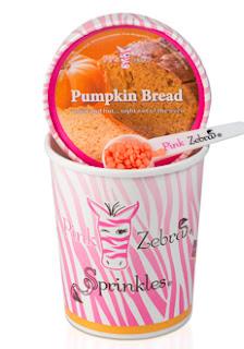 pumpkin bread sprinkles image