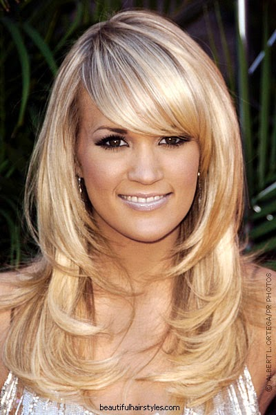 Layered Hairstyles Bangs Trendy