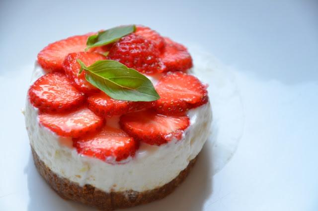 dessert à la fraise