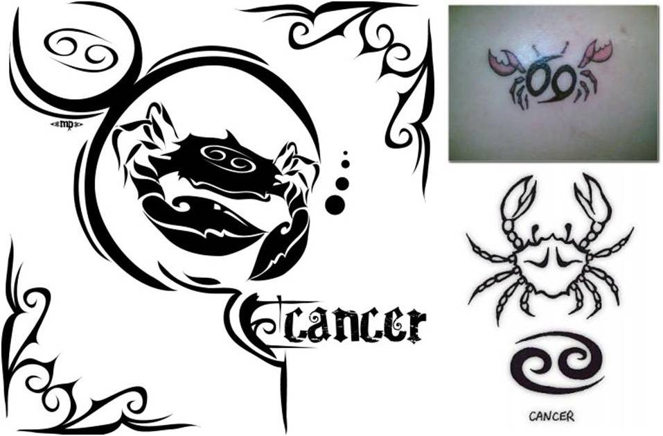 trend tattoo styles cancer tattoos june 21 july 22. Black Bedroom Furniture Sets. Home Design Ideas