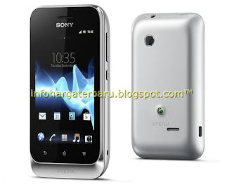 Harga Sony Xperia Tipo Dual Spesifikasi 2012