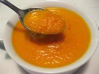 Soupe de carottes au lait maternel