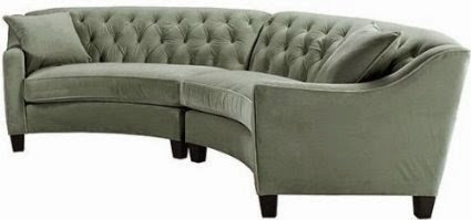 Beautiful Curved Sectional Sofas For Small Spaces