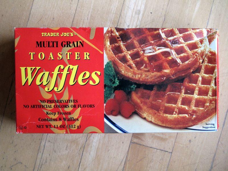 Trader Joe's Multigrain Toaster Waffles | Club Trader Joe's