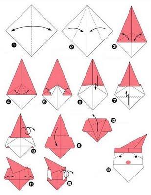 Adornos navide os en papel cositasconmesh for Adornos navidenos origami paso a paso