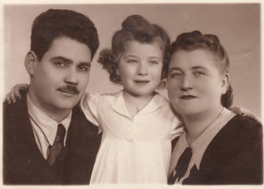 Familia Mihaescu anii 40