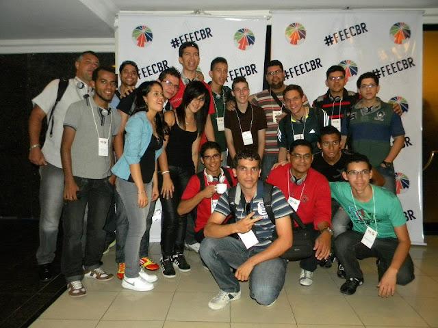 Grupo de Caruaru no FEEC BRAZIL 2012