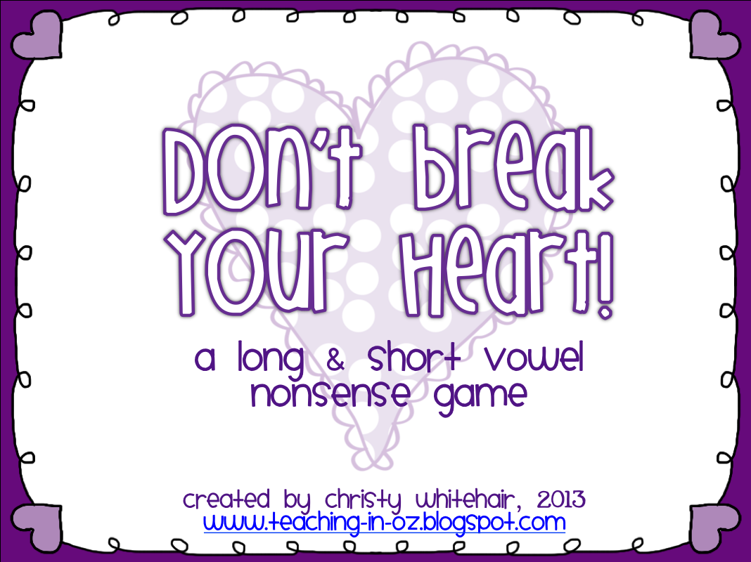 https://www.teacherspayteachers.com/Product/Dont-Break-Your-Heart-Nonsense-CVCCVCE-Game-for-RTI-556897