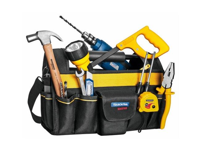 Bolsa com ferramentas