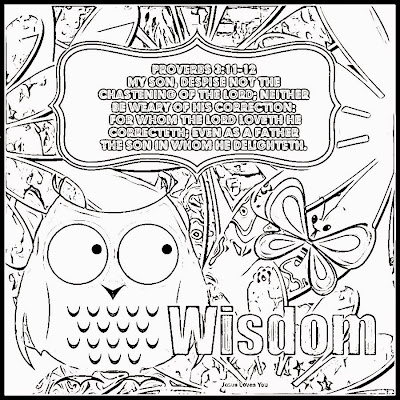 coloring pages proverbs - photo#15