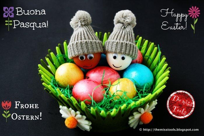 buona pasqua! - happy easter! - frohe (fr)ostern!