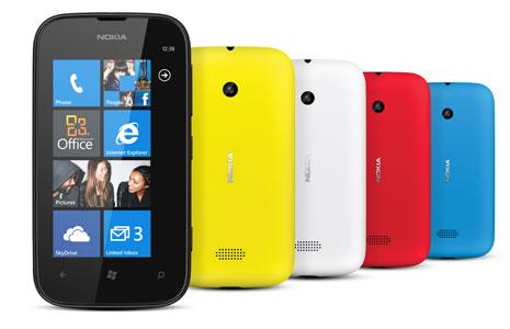, Layar Nokia 510 layar sebenarnya sedikit lebih baik daripada Lumia