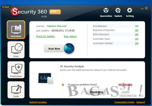 IObit Security 360 v1.6 + Keygen 2