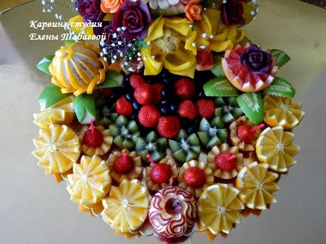 оформление фруктами южно-сахалинск