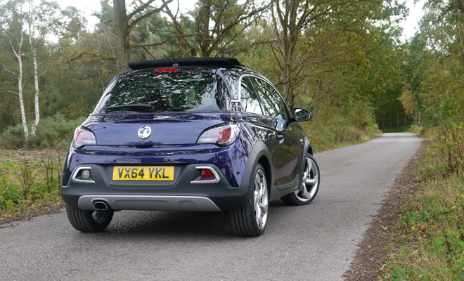 Vauxhall Adam Rocks Air rear view