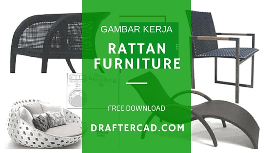 free download rattan furniture shop drawing