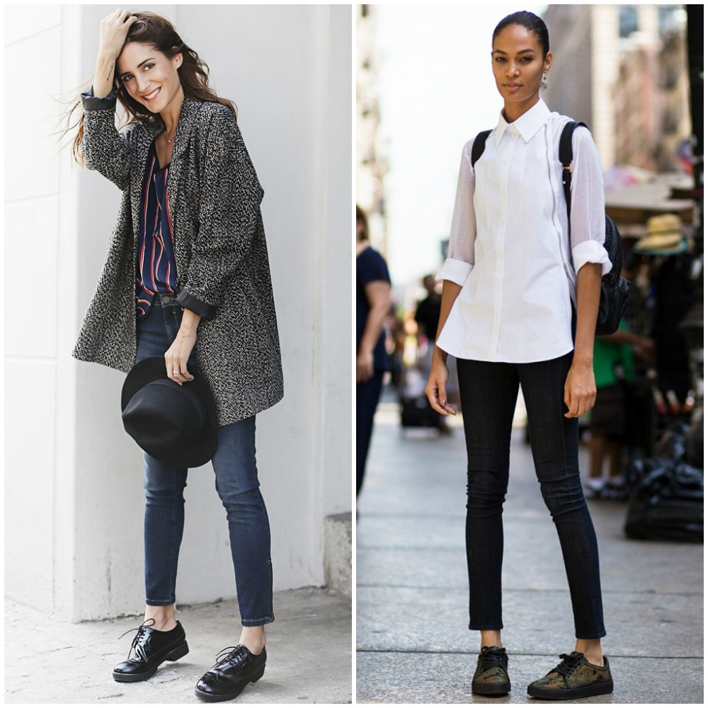 cropped skinny jeans - top uk fashion blog trends 2014 street style outfits