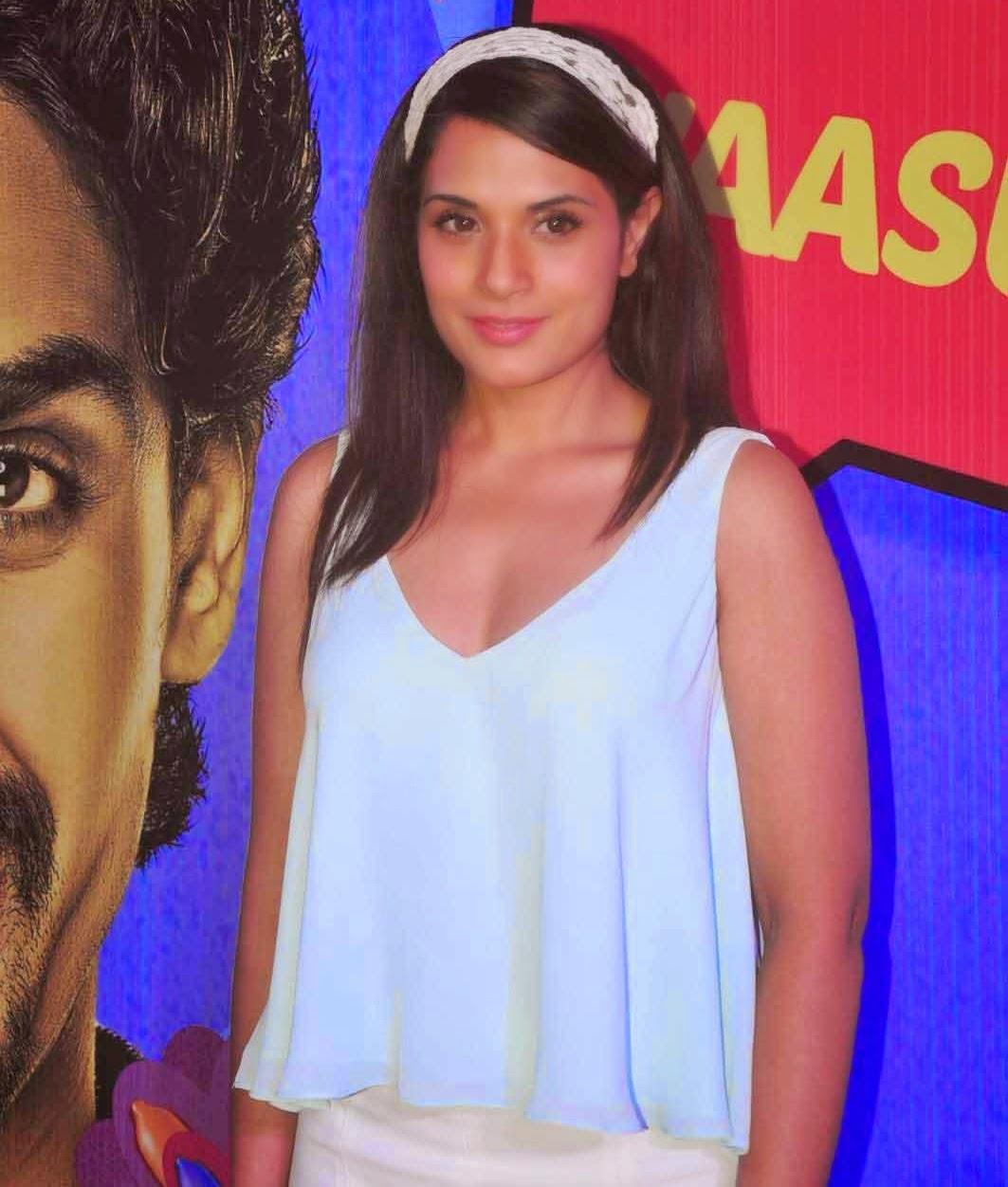 Richa Chadda at Hindi Movie Hunterrr Special Screening Photos In Mumbai