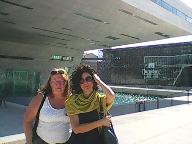 MYRIELLE  WOOLF WITH MARILENA   NARDI