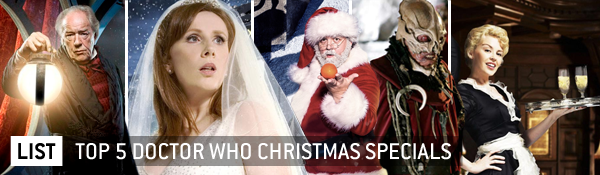 Kroagnon: List: Top 5 Doctor Who Christmas Specials