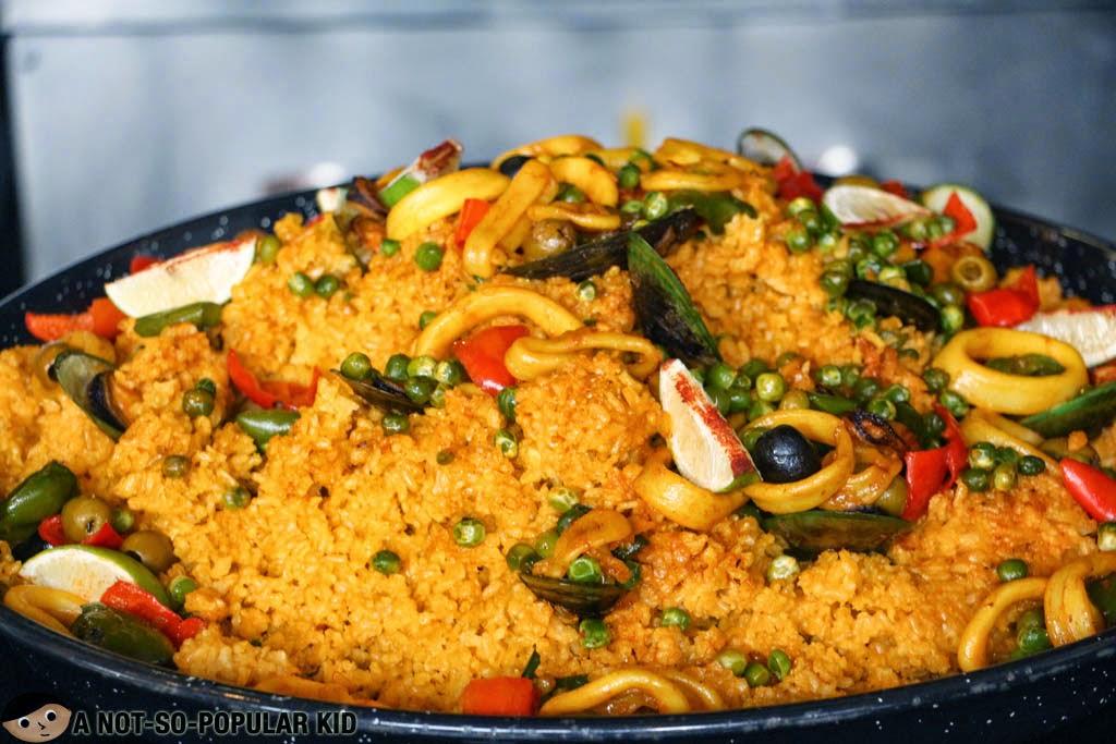 Seafood Paella of F1 Hotel Manila