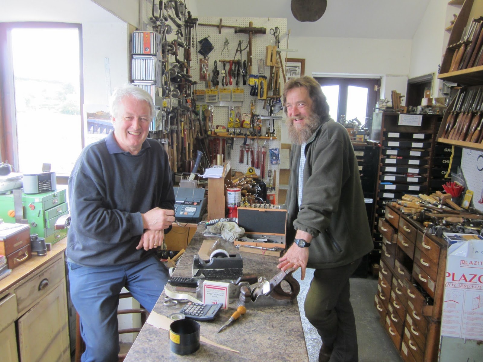 David Barron Furniture: Antique Tool Dealers in Devon