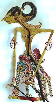 Traditional Performance javanese puppet - Sadewa