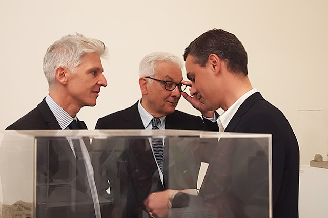 Massimo Bray, Paolo Baratta, Massimiliano Gioni