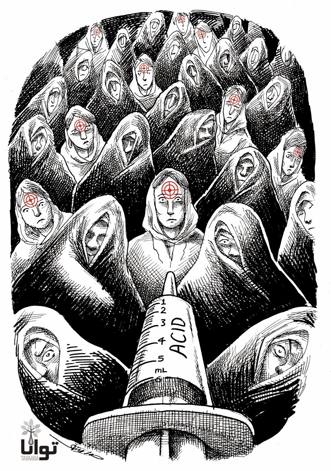 اسید پاشی به زنان، مانا نیستانی