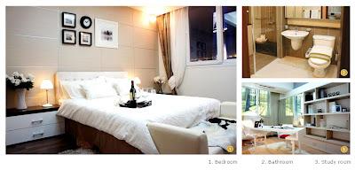 Imperia Apartment for rent in HCMC-Contemporary Apartment