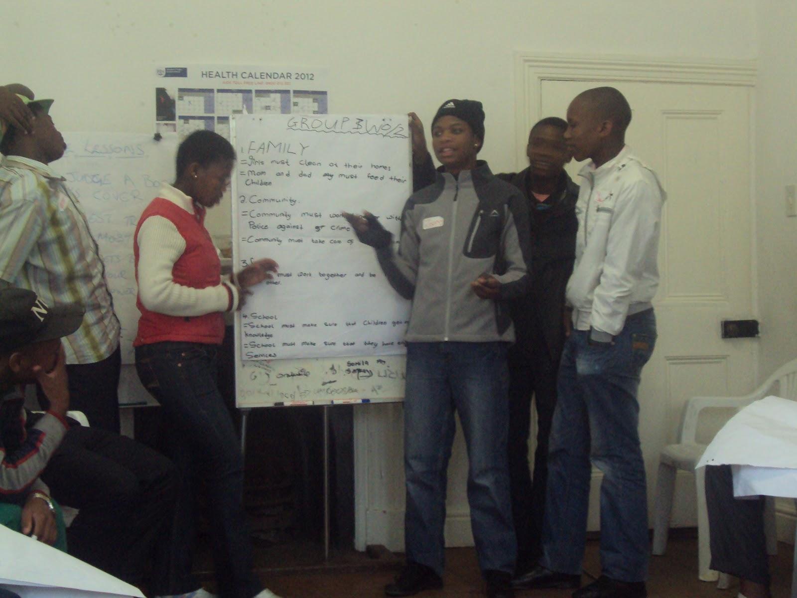 JHU Public Health Stu s in Cape Town July 2012