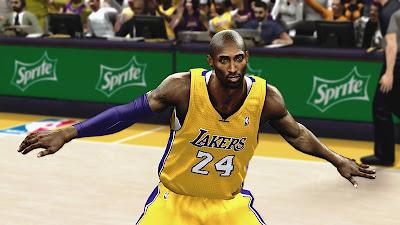 NBA 2K13 Enhanced Shadows