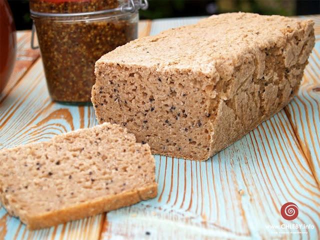 Bezglutenowy chleb amarantusowy