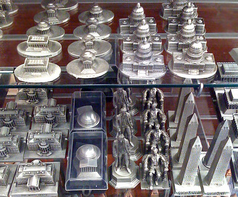 Building Collector: Souvenir Gift Shops in DC