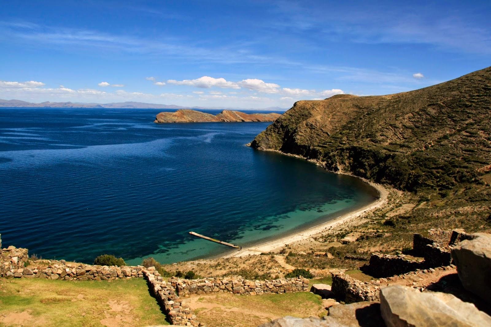 Lago Titicaca desde Isla del Sol