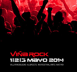 El Festival Viña Rock 2014 se celebrará del 1 al 3 de mayo en Villarrobledo
