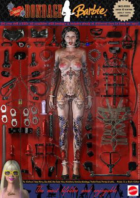 barbie doll bdsm bondage devilishly creative