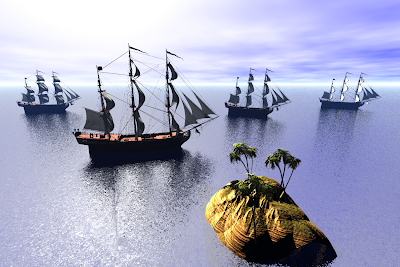3D SeaCrafts Wallpapers