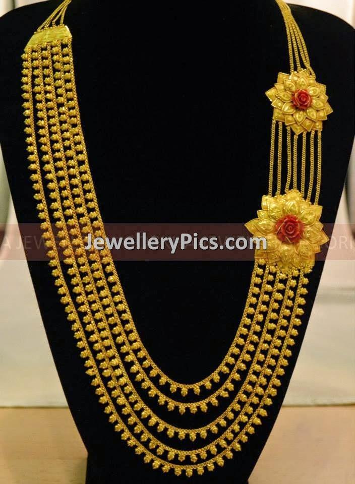 Double Chandra Raani haar - Latest Jewellery Designs