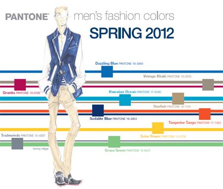Мъжка Мода Пролет 2012 Цветове