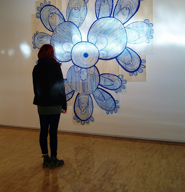 Harbourfront Centre Winter/Spring 2016 Visual Art Exhibition: Deliberately Ambiguous in Toronto, Ontario, Canada, Artmatters, Culture, Contemporary Abstract, Craft, Design, The Purple Scarf, MelaniePs, pages from my notebbok, marissa alexander