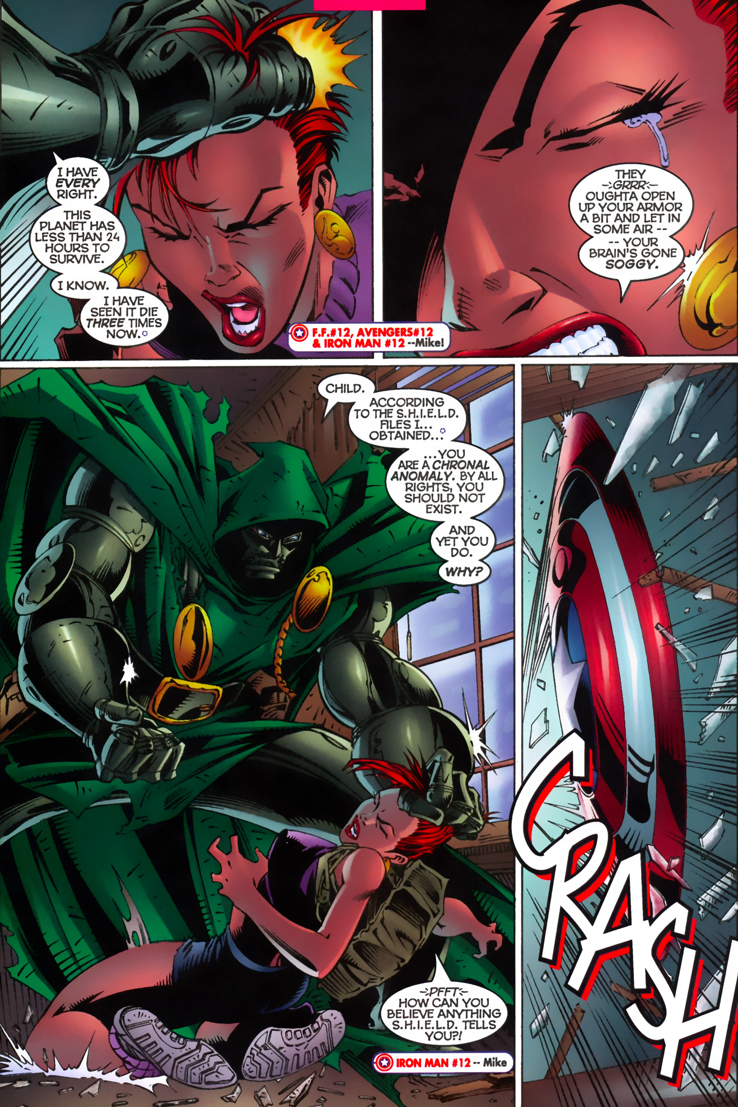 Captain America (1996) Issue #12 #15 - English 7