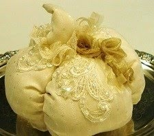 Shabby Romantic Pumpkin