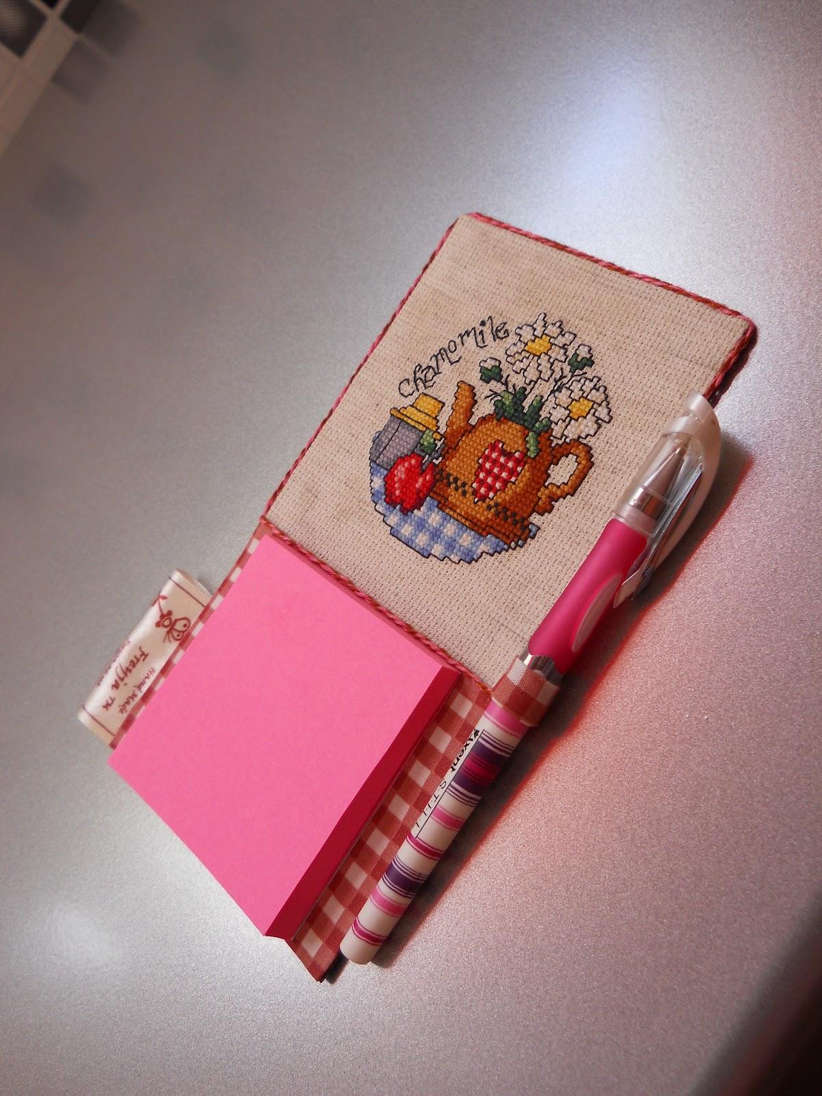 Вышивка блокнот своими руками