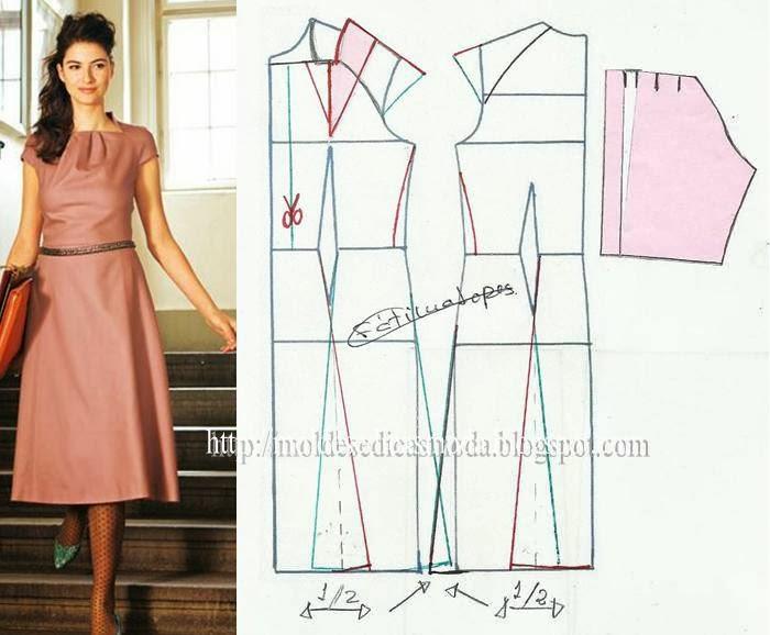 Как сшить платье-все фасоны 349