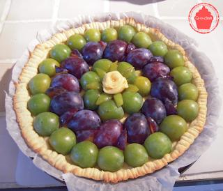 tarte aux prunes questches reine claude