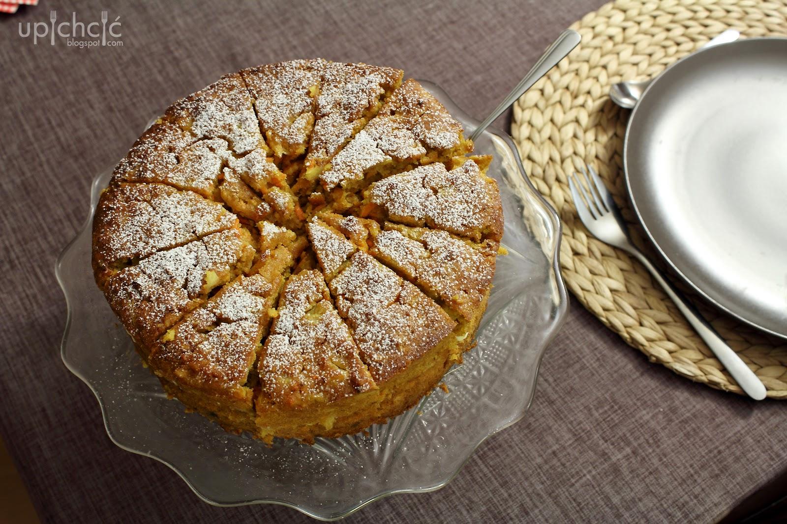 Ciasto marchewkowe