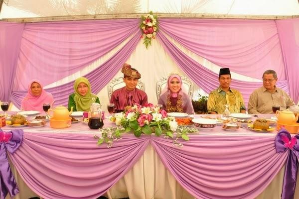 Simbol Hidangan Makanan dalam Majlis Perkahwinan Melayu