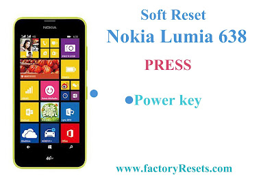 Soft Reset Nokia Lumia 638